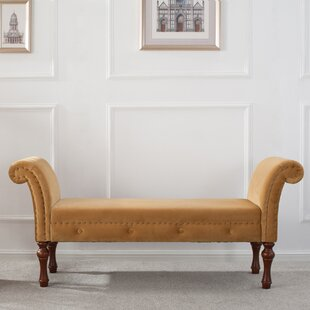Escalera Upholstered Bench by Willa Arlo Interiors