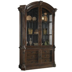 Carnaghliss Display China Cabinet by Astoria Grand