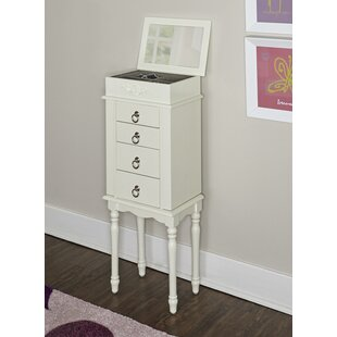 Top Reviews Ducan Jewelry Armoire with Mirror By Harriet Bee
