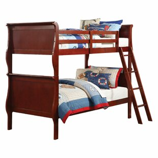 Malmesbury Twin Over Twin Bed by Harriet Bee Great price