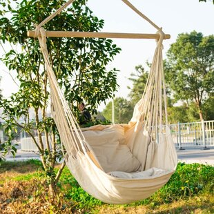 Cotton Macrame Swing Chair Hammock By Dakota Fields Buy Now