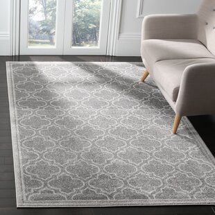 Maritza Gray Indoor/Outdoor Area Rug