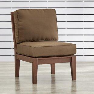 Brook Hollow Armless Chair with Cushion
