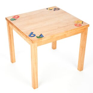 ABC Children's Arts And Crafts Table By Just Kids