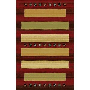 Germencik Red/Brown Area Rug