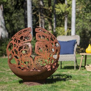 Cedar Creek Sculptures Coral Dome Steel F..