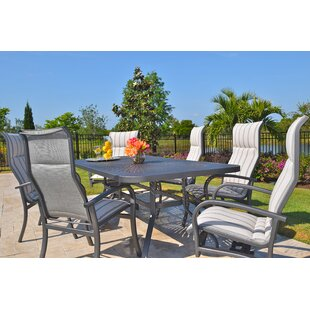 Outdoor Masterpiece Terrabay 7 Piece Dini..