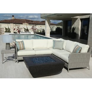 Manhattan Sectional with Cushions by Sunset West