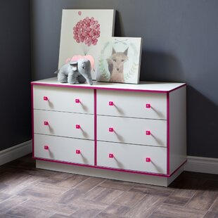 Affordable Logik 6 Drawer Double Dresser by South Shore Reviews (2019) & Buyer's Guide