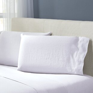Bernadette Washed Belgian Linen Pillowcases (Set Of 2) by Birch Lane™ Heritage Today Sale Only