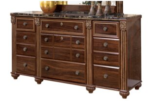 Astoria Grand Fredrick 9 Drawer Dresser W..