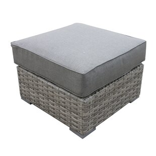 Brayden Studio Kaiser Ottoman with Cushion