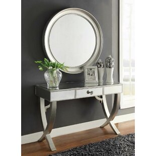 Bingman Console Table And Mirror Set (Set Of 2) By Canora Grey