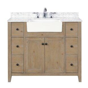 Mulhern 42 Single Bathroom Vanity Set by Millwood Pines