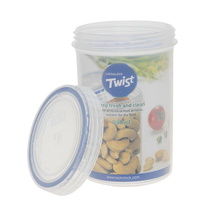 Lock Lock Twist Top Round 112 Oz Food Storage Container Wayfair
