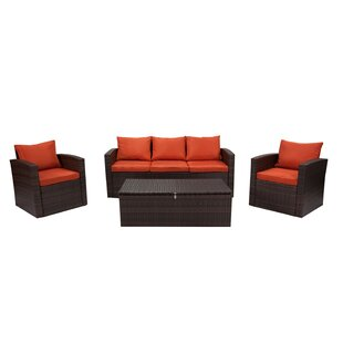 Marisa 7 Piece Rattan Sofa Seating Group