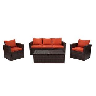 Marisa 7 Piece Rattan Sofa Seating Group