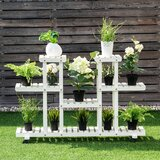 Seyler Free Form Multi-Tiered Plant Stand by Freeport Park®