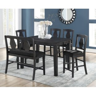 Munos 6 Piece Pub Table Set Charlton Home