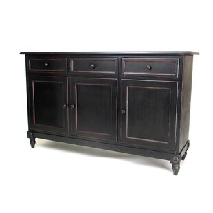 Oriental Furniture Brookfield 3 Drawer Console Accent Cabinet