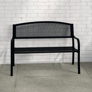 Shaun Steel Bench By Sol 72 Outdoor