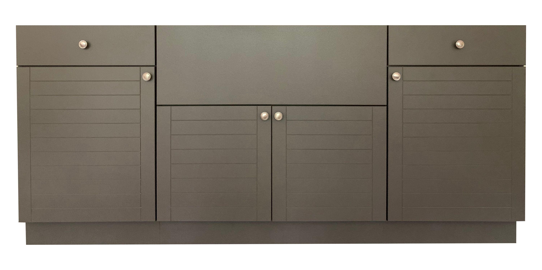 """4"""" 4-Piece Modular Outdoor Kitchen Cabinet"""