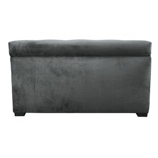 Thursa Upholstered Storage Bench by Three Posts #1