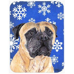 Ashlynn Mastiff Glass Cutting Board ByThe Holiday Aisle