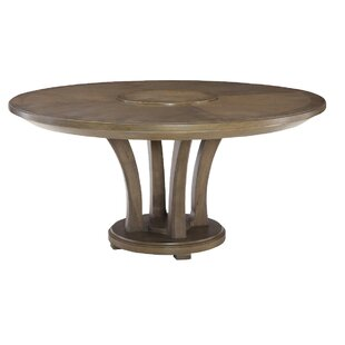 Gracie Oaks Baford Solid Wood Dining Table