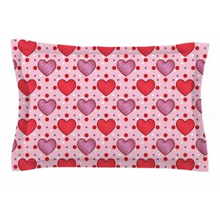 Mydeas 'Colored Candy Hearts Dotted' Vector Sham