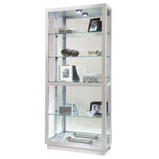 Red Barrel Studio Westerfield Lighted Curio Cabinet
