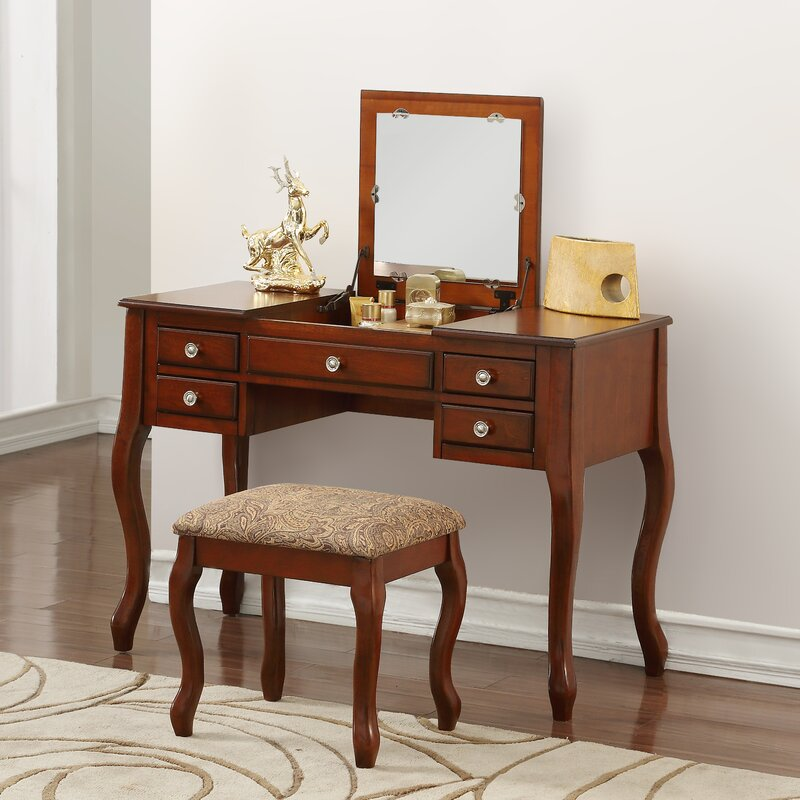 Modern Makeup Vanities & Vanity Tables | Wayfair