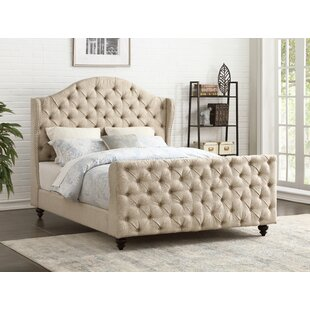 Darby Home Co Tammera Upholstered Panel Bed