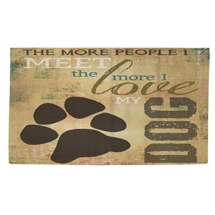 Compare People vs Dog Area Rug ByManual Woodworkers & Weavers
