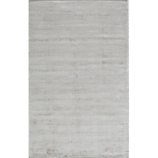 Order Hand-Tufted White Area Rug By The Conestoga Trading Co.