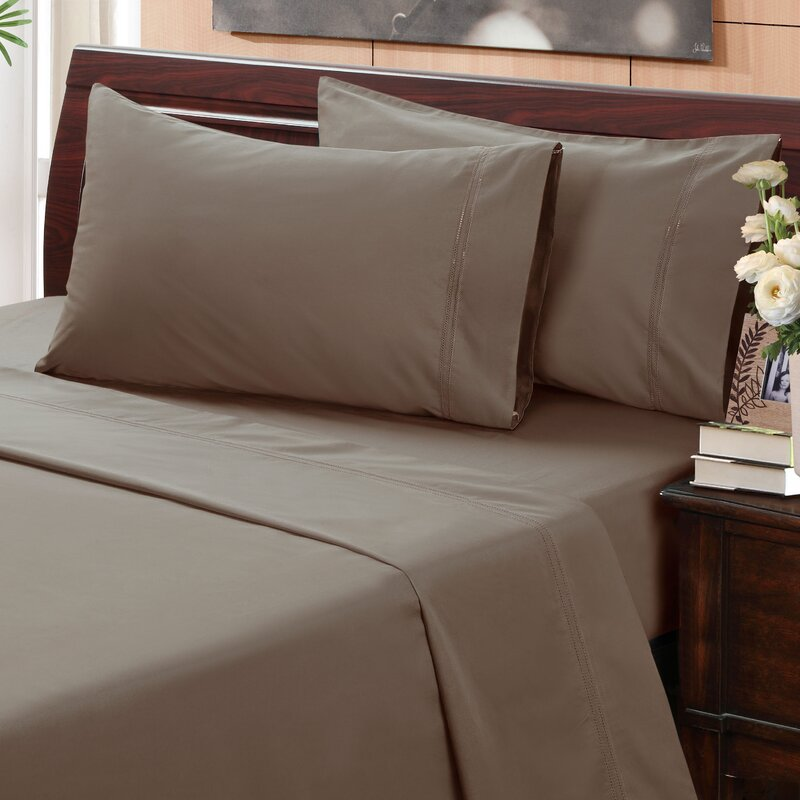 Thread Count Arrow Sheet And Bedding Set