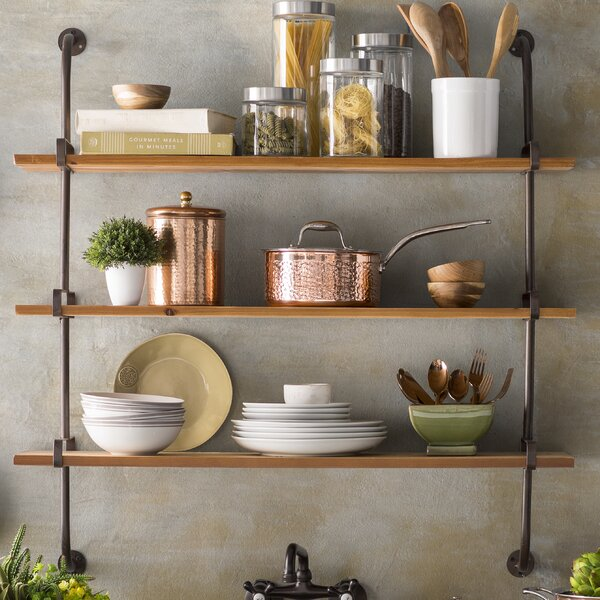 Trent Austin Design Fountain Valley Wood Wall Shelf