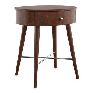 Lugenia End Table With Storage