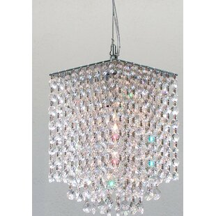Hubble 1-Light Crystal Pendant by Orren Ellis