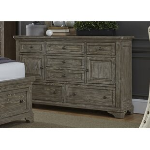 Darby Home Co Barkell 7 Drawer Combo Dresser