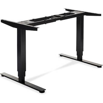 Symple Stuff Swensen Base Standing Desk Reviews Wayfair Ca