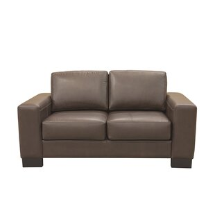 Sorrel Leather Loveseat by Latitude Run