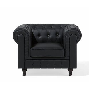 Chatman Chesterfield Chair by Alcott Hill