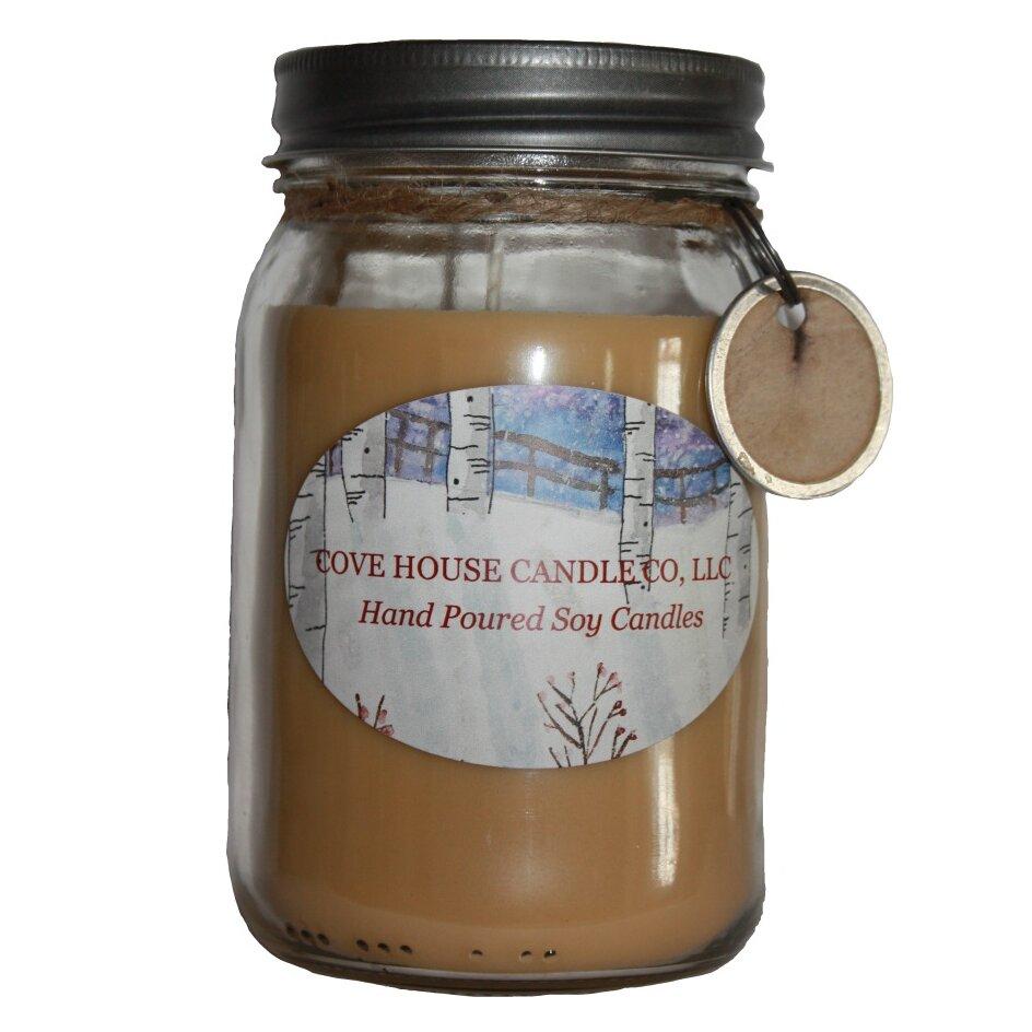 Covehousecandleco Warm Vanilla Sugar Scented Jar Candle Wayfair