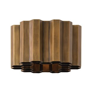 Zara 1-Light Flush Mount by AR..