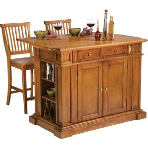 Mattice 3 Piece Kitchen Island Set by Darby Home Co Best Reviews
