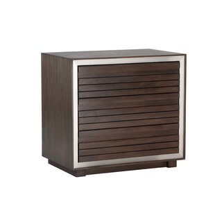 Solterra 3 Drawer Nightstand
