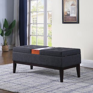 Dreier Flip top Storage Bench by Ebern Designs