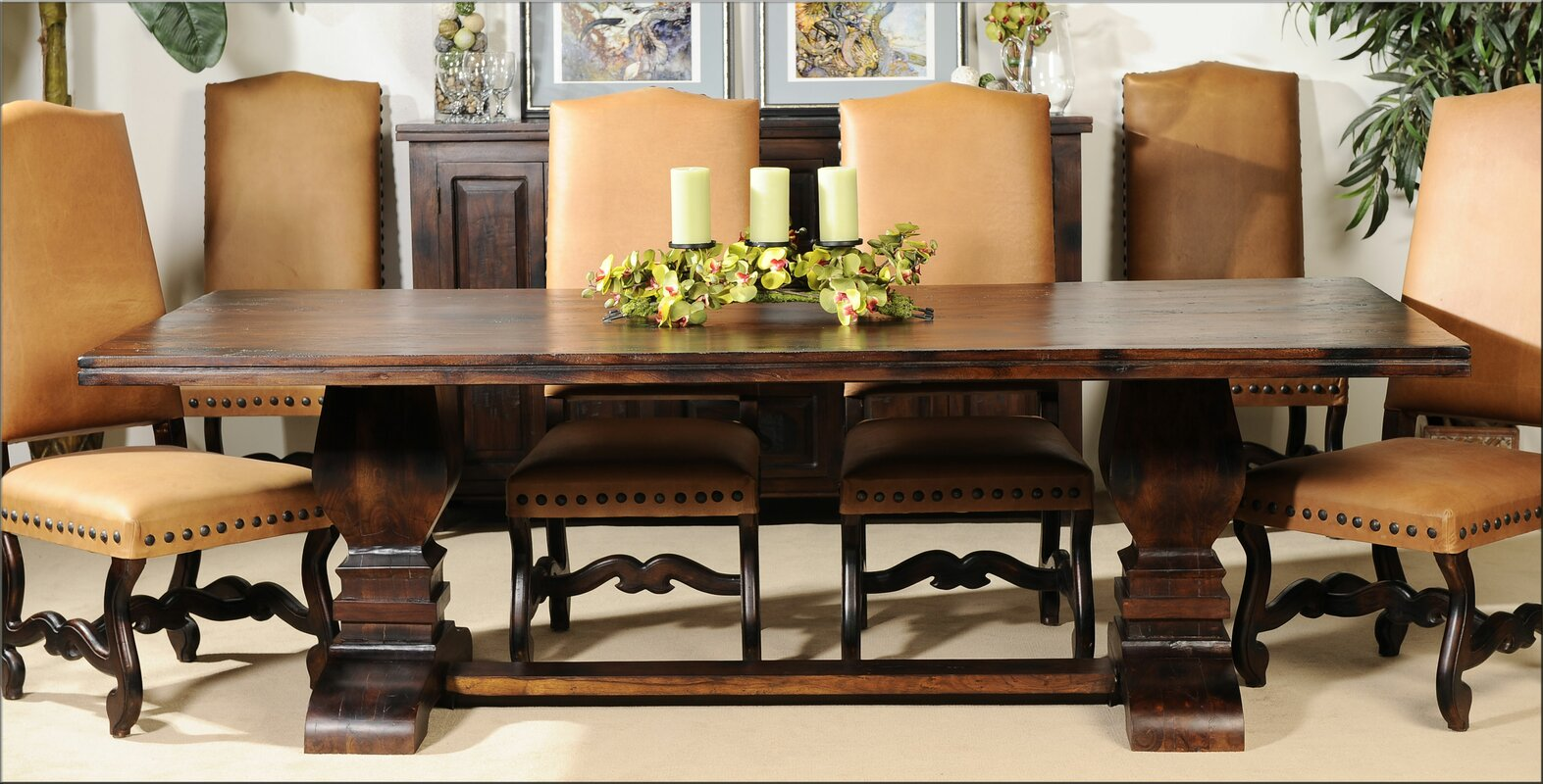 Aishni Home Furnishings Grand Castle Dining Table | Wayfair