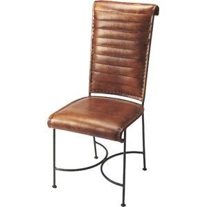 Galentine Genuine Leather Upholstered Din..